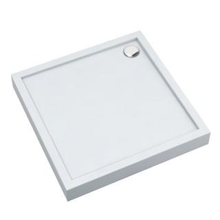 SCHEDPOL, SCHEDLINE COLLECTION Cameron Brodzik kwadratowy Stabilsound ® 80x80cm, biały.