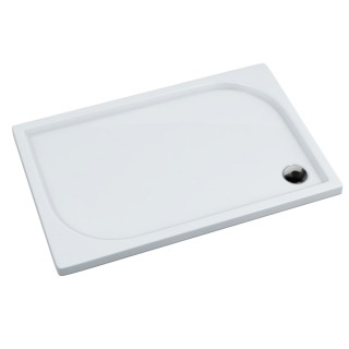 SCHEDPOL, SCHEDLINE COLLECTION Canes White Brodzik prostokątny Stabilsound Plus ® 80x100x5cm, biały.
