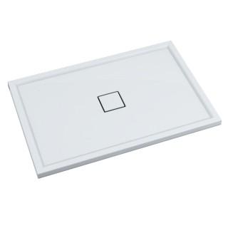 SCHEDPOL, SCHEDLINE COLLECTION Erida Brodzik prostokątny Stabilsound Plus ® 80x120x5cm, biały.