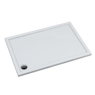 SCHEDPOL, SCHEDLINE COLLECTION Estima Brodzik prostokątny Stabilsound Plus ® 80x90x4,5cm, biały.