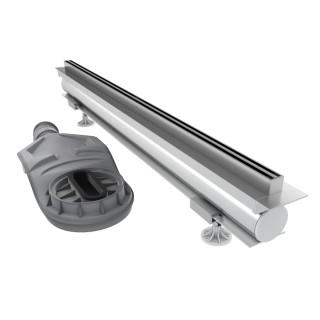 SCHEDPOL, SCHEDLINE COLLECTION Thin Line Odpływ liniowy 80x1,2cm.