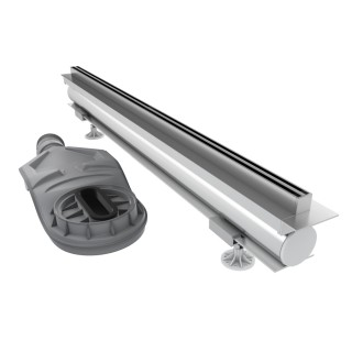 SCHEDPOL, SCHEDLINE COLLECTION Thin Line Odpływ liniowy 100x1,2cm.