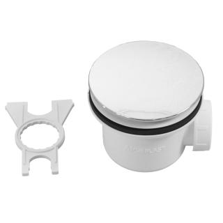 SCHEDPOL, SCHEDLINE COLLECTION Syfon brodzikowy ø90mm, poziomy (SDB90A).