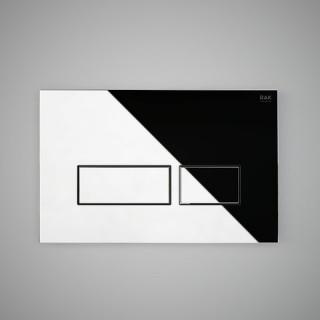 RAK CERAMICS Przycisk spłukujący prostokąt 23,6x15,2x1,2cm, chrom połysk.