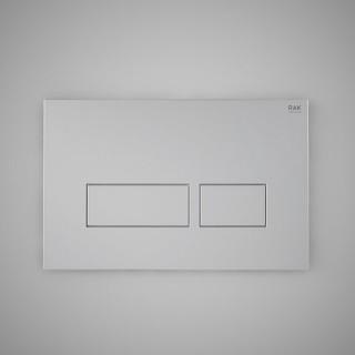 RAK CERAMICS Przycisk spłukujący prostokąt 23,6x15,2x1,2cm, chrom matt.