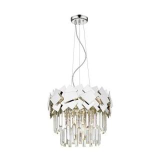 ZUMA LINE Lampa wewnętrzna wisząca QUASAR, P0506-05A-F4AC, srebrny.