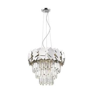 ZUMA LINE Lampa wewnętrzna wisząca QUASAR, P0506-06A-F4AC, srebrny.