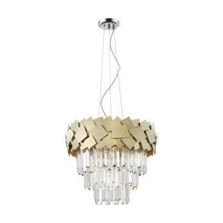 ZUMA LINE Lampa wewnętrzna wisząca QUASAR, P0506-06A-F4E3, złoty.