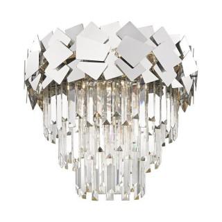 ZUMA LINE Lampa wewnętrzna sufitowa QUASAR, C0506-06A-B5AC, srebrny.