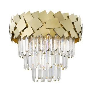 ZUMA LINE Lampa wewnętrzna sufitowa QUASAR, C0506-06A-B5E3, złoty.