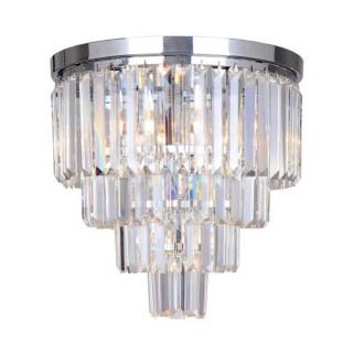 ZUMA LINE Lampa wewnętrzna sufitowa AMEDEO, FC17106/4+1-CHR, srebrny.