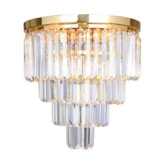 ZUMA LINE Lampa wewnętrzna sufitowa AMEDEO, FC17106/4+1-GLD, złoty.