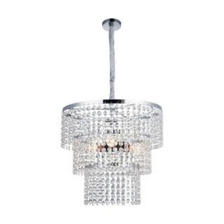 ZUMA LINE Lampa wewnętrzna wisząca CORIA, YSC06, srebrny.