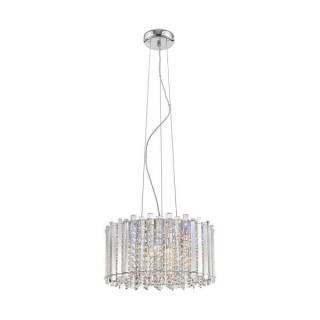 ZUMA LINE Lampa wewnętrzna wisząca VENTUS, P0465-05C-F4AC, srebrny.