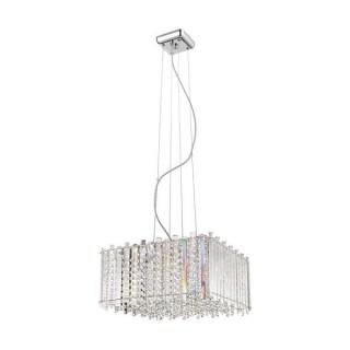 ZUMA LINE Lampa wewnętrzna wisząca VENTUS, P0465-05D-F4AC, srebrny.