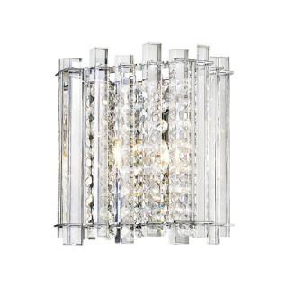 ZUMA LINE Lampa wewnętrzna kinkiet VENTUS, W0465-01B-B5AC, srebrny.