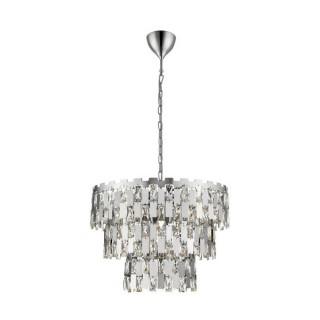 ZUMA LINE Lampa wewnętrzna wisząca ANZIO, P0480-04A-F4AC, srebrny.