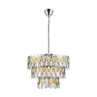 ZUMA LINE Lampa wewnętrzna wisząca ANZIO, P0480-04A-F4D7, złoty.