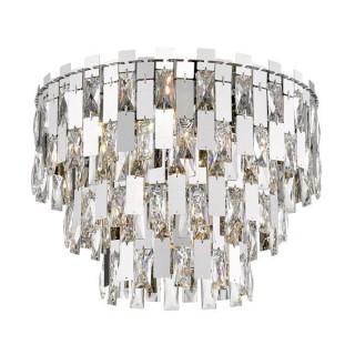 ZUMA LINE Lampa wewnętrzna sufitowa ANZIO, C0480-07A-F4AC, srebrny.