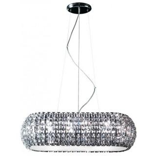 ZUMA LINE Lampa wewnętrzna wisząca ANTARCTICA, P0174-10A-F4AC, srebrny.