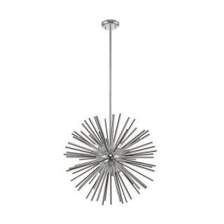 ZUMA LINE Lampa wewnętrzna wisząca URCHIN, P0491-09F-F4AN, srebrny.