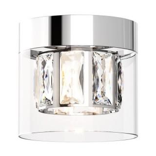 ZUMA LINE Lampa wewnętrzna sufitowa GEM, C0389-01A-F4AC, srebrny.