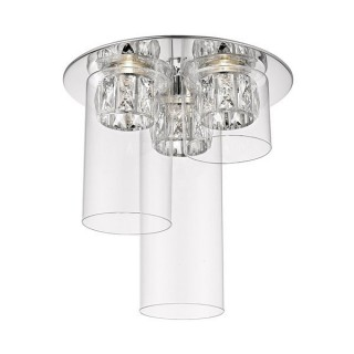 ZUMA LINE Lampa wewnętrzna sufitowa GEM, C0389-03F-B5AC, srebrny.