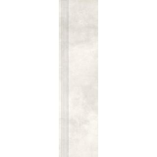 NOWA GALA Stopnica frezowana MR 01 natura gres rektyfikowany 29,7x119,7cm Gat.1
