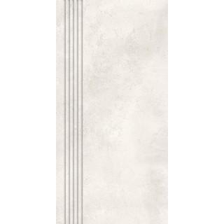 NOWA GALA Stopnica frezowana MR 01 natura gres rektyfikowany 29,7x59,7cm Gat.1