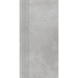 NOWA GALA Stopnica frezowana MR 12 natura gres rektyfikowany 29,7x59,7cm Gat.1