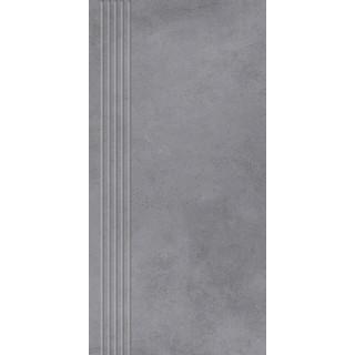 NOWA GALA Stopnica frezowana MR 13 natura gres rektyfikowany 29,7x59,7cm Gat.1