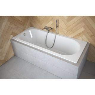 BESCO Intrica Slim 160 wanna prostokątna 160x75cm, biały połysk.
