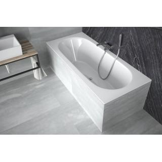 BESCO Vitae Slim 160 wanna prostokątna 160x75cm, biały połysk.