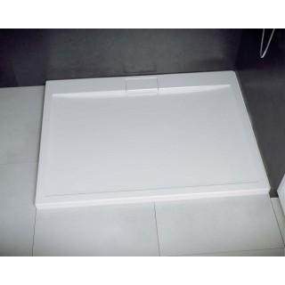 BESCO Axim UltraSlim Brodzik prostokątny 100x80x2,5cm, biały.