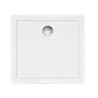 BESCO Aquarius SlimLine Brodzik kwadratowy 80x80x3cm, biały.