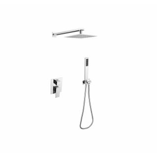 BESCO Modern/Varium I Zestaw prysznicowy podtynkowy, chrom.