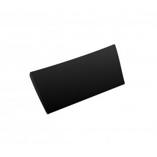BESCO Comfy Black zagłówek wannowy, czarny.