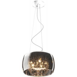 ZUMA LINE Lampa wewnętrzna wisząca CRYSTAL, P0076-05L-F4FZ, chrom dymiony.