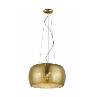 ZUMA LINE Lampa wewnętrzna wisząca RAIN, P0076-05L-F7L9, złoty.