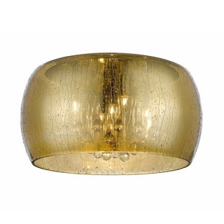ZUMA LINE Lampa wewnętrzna sufitowa RAIN, C0076-05L-F4L9, złoty.