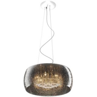 ZUMA LINE Lampa wewnętrzna wisząca RAIN, P0076-06X-F4K9, srebrny.