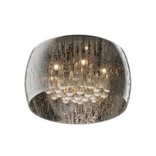 ZUMA LINE Lampa wewnętrzna sufitowa RAIN, C0076-05L-F4K9, srebrny.