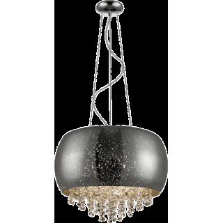 ZUMA LINE Lampa wewnętrzna wisząca VISTA, P0076-05K-F4GR, srebrny.