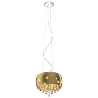 ZUMA LINE Lampa wewnętrzna wisząca VISTA, P0076-05K-F4GQ, złoty.