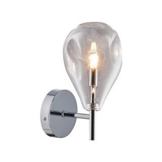 ZUMA LINE Lampa wewnętrzna kinkiet BASTONI, MB1921-1-CLEAR, transparentny.