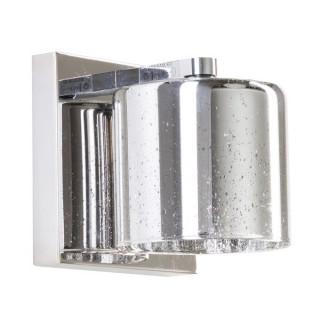 ZUMA LINE Lampa wewnętrzna kinkiet PIOLI, W0369-01A-B5GR, srebrny.