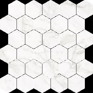 NOWA GALA Mozaika M-h-FW 01 poler gres rektyfikowany 27x27cm Gat.1