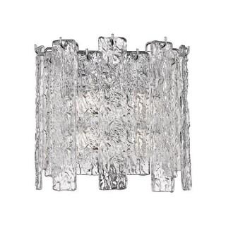 ZUMA LINE Lampa wewnętrzna kinkiet FROZE, W0509-02A-B5AC, transparentny.