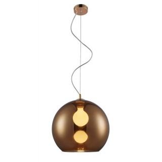 ZUMA LINE Lampa wewnętrzna wisząca VERO, MD1621-1 Copper, miedziany.