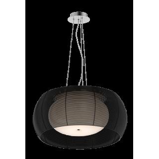 ZUMA LINE Lampa wewnętrzna wisząca TANGO, MD1104-2L Black, czarny.
